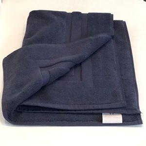 Turkish Bath Mat, Navy Blue